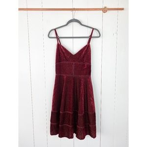 Romeo + Juliet Couture Corduroy Dress Medium NWT